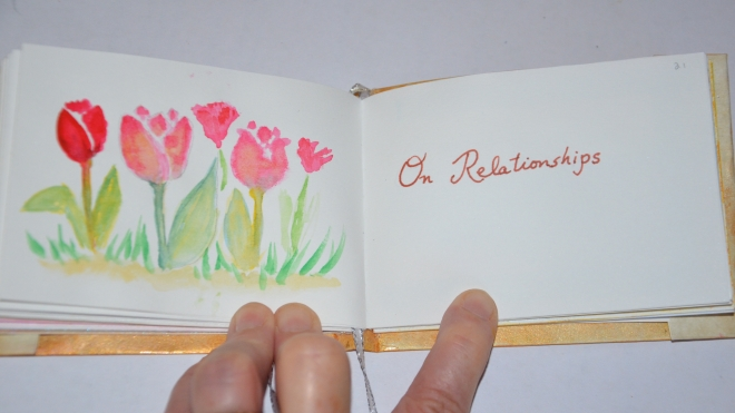 Relationships and tulips